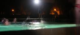 Ein Bad in der Badi Villmergen - in der Nacht