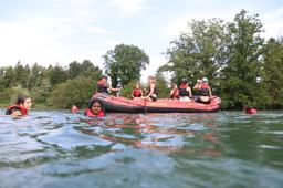 Bootsfahrt auf der Reuss